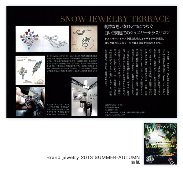 Brand jewelry 2013 SUMMER-AUTUMN(7月2日発売号)